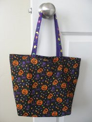 Five Minute Trick or Treat Tote
