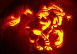 Fantasy Unicorn Pumpkin Carving Template