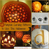 19 Pumpkin Carving Patterns to Use This Halloween