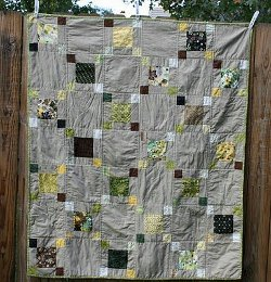 Tulip Patch Charm Quilt