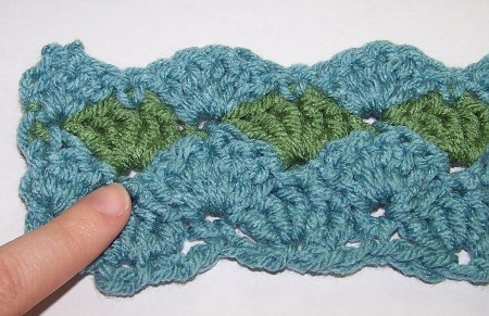 Diy Shell Stitch Allfreecrochet