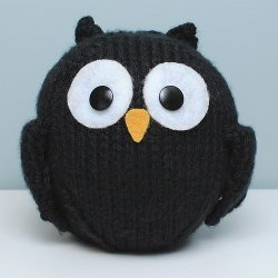 Easy Little Black Owl