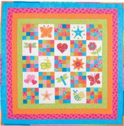 Squares And More Baby Quilt Favequilts Com