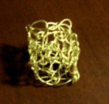 How to Crochet a Simple Wire Ring