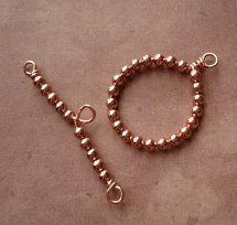 how to make a beaded toggle clasp allfreejewelrymakingcom