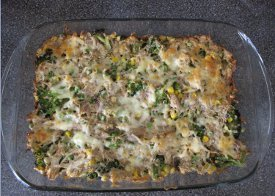 Weeknight Chicken Broccoli Casserole
