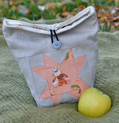 Mini Quilt Lunch Sack