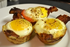 Crunchy Egg Breakfast Cups