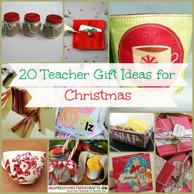 20 Teacher Gift Ideas for Christmas