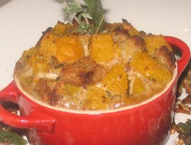 Benny's Pumpkin Bread Pudding