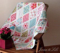 Divine Diamonds Baby Quilt
