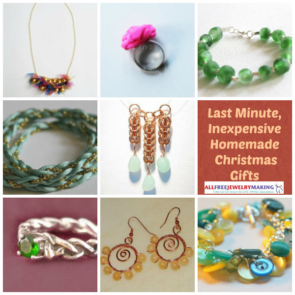 Simple Cheap Christmas Gifts: 37 Last Minute Inexpensive Christmas Gifts To Make