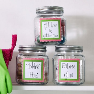 Craft Room in a Jar