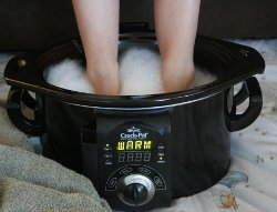Slow Cooker as a Foot Bath