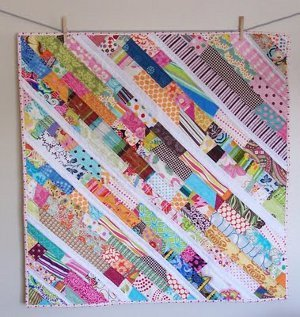 Scatter Sunshine Baby Quilt