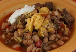 Slow Cooked Cowboy Beans