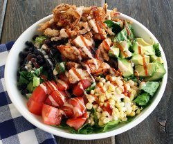 Cheesecake Factory BBQ Ranch Chicken Salad