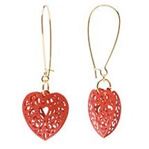 Lacy Heart Earrings
