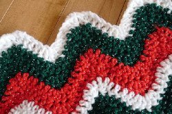 75 Red and Green Christmas Crochet Afghans