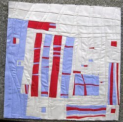 Free-form Patchwork Mini Art Quilt | FaveQuilts.com : art quilt patterns free - Adamdwight.com