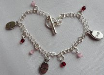 Live, Love, Laugh Charm Bracelet