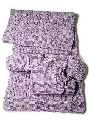 Easy As Pie Blanket Kimono Allfreeknitting