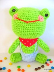 Mr. Frog Crochet Pattern