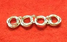 Chain Maille Rosette Links