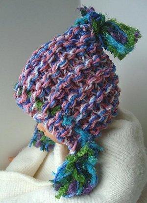 Super Chunky Hoodie Hat Allfreeknitting
