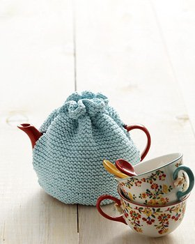 Beginner Tea Cozy AllFreeKnitting.com
