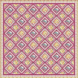 Dreamy Lattice Quilt