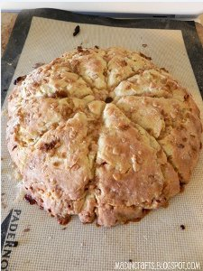 English Toffee Scones