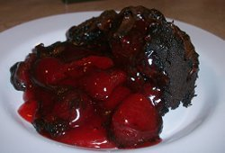 Chocolate Covered Strawberry Dump Cake