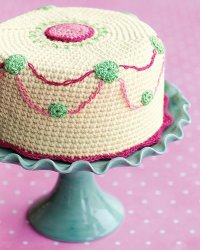 Crocheted Cake Confection