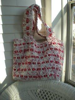 The Cutest Plarn Grocery Beach Bag Allfreecrochet Com