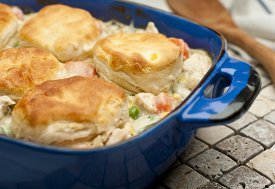 Easy Chicken And Biscuits Recipelion Com