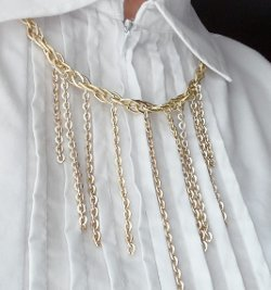 Cascading Chain Waterfall Necklace