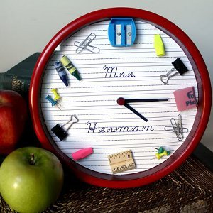 School Teacher Clock
