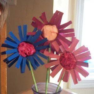 Delightful Recycled Daisies