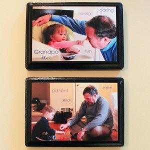 Decoupage Photo Plaques