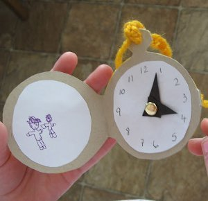 Alice in Wonderland Pocket Watch