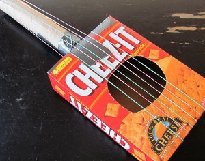 Rockin' Recycled Guitar