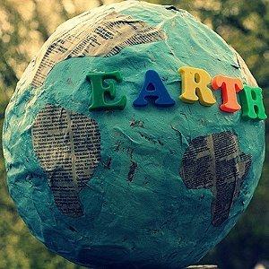 Earth Day Papier Mache Globe