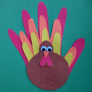 Family Handprint Turkey