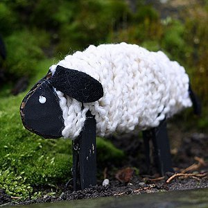 Wooly Yarn Sheep