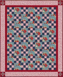 Comfort and Charm Irish Chain Quilt