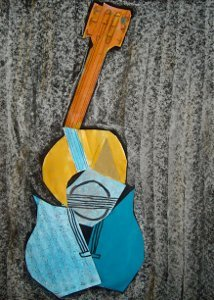 Picasso Guitar Collages