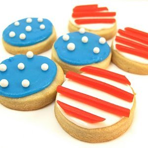 Stars and Stripes Cookie Bites