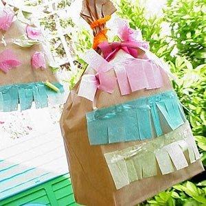 Easy Paper Bag Pinatas
