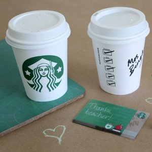 Starbucks Cup Teacher Appreciation Gift